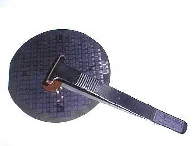 Vespel Wafer Tweezers for High Temperature Semiconductor Silicon Wafer Handling: Withstands up to 288C continuously